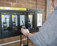 sikker oppbevaring av walkie talkie