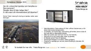 Traka Norge as - Nyhetsbrev okt 2015
